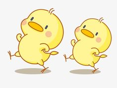 Cartoon chick PNG and Clipart Mural Cafe, Duck Drawing, Chicken Drawing, Easter Drawings, Cute Chickens, Cartoon Wallpaper Iphone, Baby Ducks, Cute Birds, Kawaii Drawings
