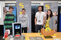 #HTLSaalfelden #Firmentag 2016: Barbara and Jonas had the opportunity to talk to a lot of curious students today at the #technical college in Saalfelden.  Also a big thanks for the great organization of this event! 