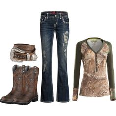 It's more than a style it is a way of life. Thank the Lord I'm a country cowgirl Country Style Outfits, Country Wear, Country Girl Style, Country Fashion, My Style, Country Life, Camo Outfits, Western Outfits, Western Wear