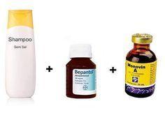 Receita do Shampoo Bomba com Monovin A e Bepantol
