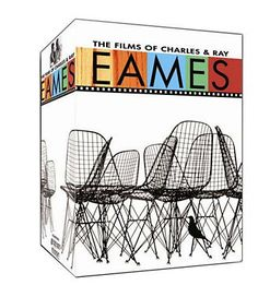 DVD box set contains volumes of the films by Charles and Ray Eames.