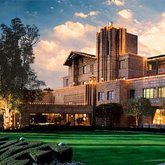 """Arizona Biltmore.  Gorgeous resort.  Architecture inspired by Frank Lloyd Wright.  Wonderful place for a summer """"staycation"""" when the rooms are offered at a discounted price."""
