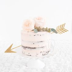 Cake Topper Decoration | Arrow  | Rustic | Country | Wood | Metallic | Gold | Glitter | Rose Gold by RebeccaLaneGraphics on Etsy https://www.etsy.com/listing/266591401/cake-topper-decoration-arrow-rustic