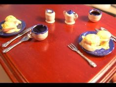 Eggs Benedict for the Dollhouse