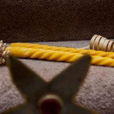 Spiral Taper Beeswax Candle: Twisted, Simple, Elegant, Stylish | www.WarmCandle.com