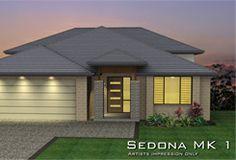 Sedona MKI - TRI-LEVEL -Hip roof
