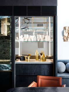 Interior designer Nina Maya reveals her flair for sophisticated terrace living with the Glasshouse, located in Sydney's Paddington postcode. City Living, Living Area, Leadlight Windows, Mim Design, Interior Architecture, Interior Design, Eclectic Design, Cheap Houses, Melbourne House