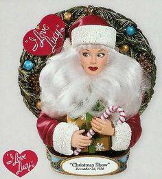 i love lucy ornaments amazoncom carlton cards heirloom i love lucy christmas - I Love Lucy Christmas