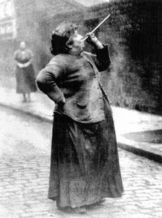 a female version of a Knocker Upper=vintage everyday: 10 Jobs That No Longer Exist Today