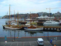 Norway - Ships along Oslo's harbor (photo by Sebastiano Piotti)