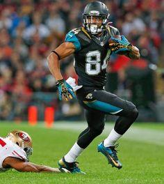 Jacksonville Jaguars wide receiver Cecil Shorts