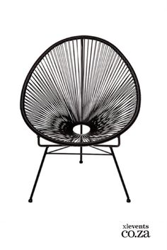 Want to buy a funky Mexican style outdoor Acapulco chair? These woven plastic cane and steel constructed replica Acapulco lounge chairs are galvanised and suitable for outdoor use. Available in a wide range of colours. Home Furniture Online, Cafe Furniture, Furniture Design, Red Blue Green, Orange Grey, Acapulco Chair, Woven Chair, Grey Chair, Mexican Style