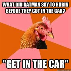 Funny pictures about Anti-Joke Chicken talks about your mom. Oh, and cool pics about Anti-Joke Chicken talks about your mom. Also, Anti-Joke Chicken talks about your mom. Chicken Jokes, Bad Chicken, Funny Chicken, Angry Chicken, Chicken Bar, Chicken Coup, Chicken Eggs, Fried Chicken, Chicken Recipes