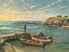 Thomas Kinkade - Caesarea - world-wide-art.com