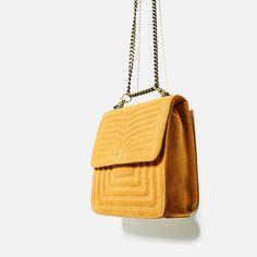 LEREN SCHOUDERTAS MET WOLVEN-Cross-Body bags-TASSEN-DAMES | ZARA Nederland