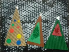 Avets a la tapa de l'àlbum per als més petits Christmas Tree Crafts, Xmas, Album, Animals, Party, School, Infant Crafts, Activities For Kids, Murals