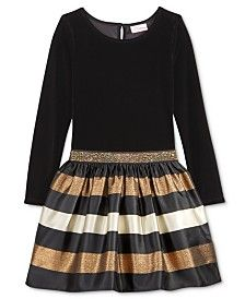 4T Toddler Girls Kidtopia Black /& White Plaid Lt Weight Dress w// Sweater Sz 2T