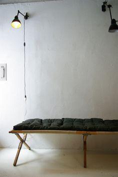 フランス軍フォールディングベッド