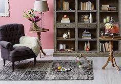 plum upholstery