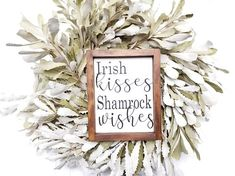 St. Patrick's Day Decor St. Patties Decor Farmhouse
