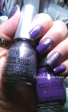 Sinful Colors - Amethyst China Glaze - Prism  >>  https://www.facebook.com/polishmakesmehappy