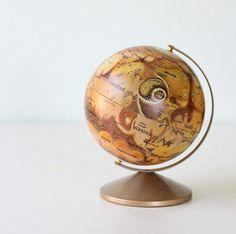 "Vintage 6"" Mars Globe by Replogle"