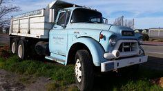 1950s GMC 550 dump truck