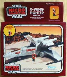 Micro Collection X-Wing Fighter (circle with figure on box) - Star Wars Collectors Archive Star Wars Set, Star Wars Ships, Star Wars Toys, The Last Movie, Amazing Toys, X Wing Fighter, Star Wars Vehicles, Old School Toys, Cloud City