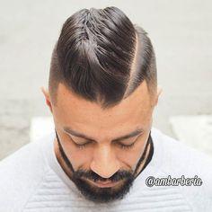 Haircut by ambarberia http://ift.tt/1YM93RY #menshair #menshairstyles #menshaircuts #hairstylesformen #coolhaircuts #coolhairstyles #haircuts #hairstyles #barbers
