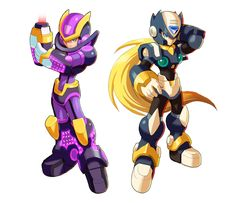 Megaman+X9-+Ultimate+Armor+and+???+by+ultimatemaverickx.deviantart.com+on+@deviantART