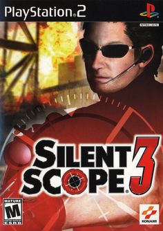 Silent Scope 3 Sony Playstation 2 Game