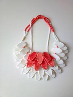 "Gioiello in Fermento - Mention JOYA  Eun Mi Kwon presents ""Wearing Ceramics - ""like…""  Mont-Blanc porcelain, Bohemian glass beads, silk thread."