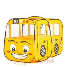 Абсолютно все детишки очень любят строить воображаемые домики из подручных материалов. В этом случае в ход идут и покрывала, и столы со стульями, что не очень безопасно. Лучше приобрести для любимых непосед качественную и просторную детскую палатку «Автобус» от компании Shantou Toys. Данная палатка отлично подойдет для детишек старше трехлетнего возраста. Выполнена она в форме...