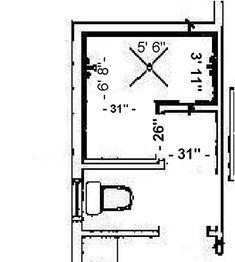 4 5 39 x7 8 39 dimensions range dimensions for doorless walk in shower stall master bath. Black Bedroom Furniture Sets. Home Design Ideas