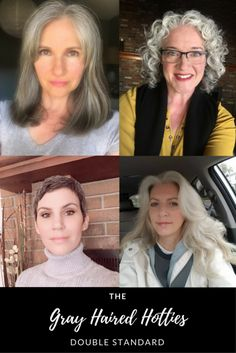 Gray Haired Hotties