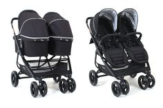 Snap Ultra Duo Pram by Valco Baby Umbrella Stroller, Pram Stroller, Jogging Stroller, Newborn Twins, Twin Babies, Baby Twins, Double Stroller For Twins, Double Prams, Twin Pram