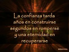 Confianza...
