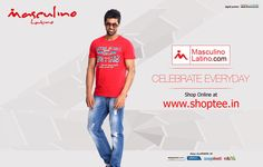 MEN'S FASHION CASUAL T-SHIRT/RED PRODUCT CODE : MLT2002A Price : Rs.599.00 COD Available
