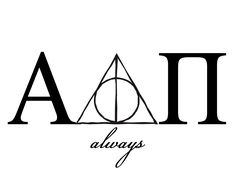 ΑDPi & HP. Always. OMG! THE MOST AMAZING THIS I HAVE EVER SEEN!!!! THIS IS AMAZING!!!! LOVE!!!!!!!!!!!!!!!!!!!