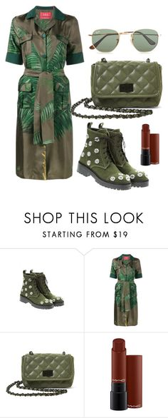 """""""Untitled #169"""" by eliza-sinner ❤ liked on Polyvore featuring Anouki, F.R.S For Restless Sleepers, Steve Madden, MAC Cosmetics and Ray-Ban"""