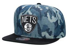 Denim Camo Snapback Brooklyn Nets - Mitchell & Ness