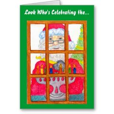 Someone is celebrating the #miracles of the #holiday season with my #Santa Lighting #Menorah art ~ Thank you!