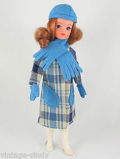 Sindy Fleur COMPLETE WINTER OUTFIT #1239 | No Doll | Vintage Pedigree Otto Simon