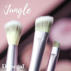 JUNGLE MAKE-UP #style #makijaż #makeup #look #brush #shadow #fashion #brow #eye #lip