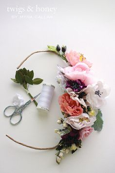 lovely flower headpiece