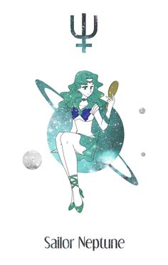 Sailor Neptune by Mangaka-chan on DeviantArt