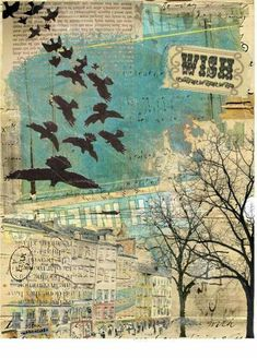 art journal mixed media inspiration An art collage from July 2012 Collage Art Mixed Media, Mixed Media Canvas, Mixed Media Painting, Painting Collage, Painting Abstract, Acrylic Paintings, Arte Sketchbook, Art Journal Pages, Art Journals