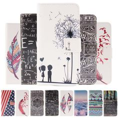 Fashion Cartoon pattern PU Leather Case for Samsung Galaxy J5 J500 J500F Phone Cover Case for Galaxy J5 Flip Wallet With Card