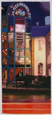 My painting of James Brindley Birmingham