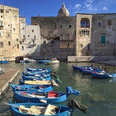 Monopoli Port & Fishing Boats - Puglia, Italy